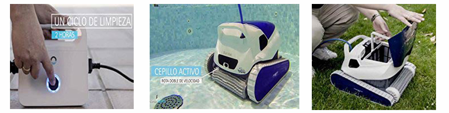comprar robot piscina dolphin blue maxi 30