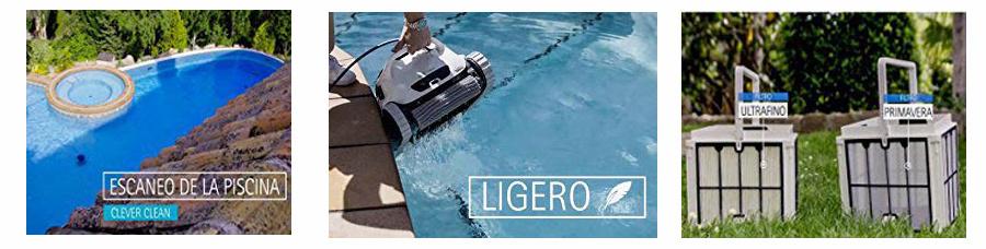 robot piscina dolphin blue maxi 30 opiniones