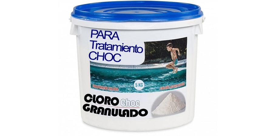 cloro para piscinas