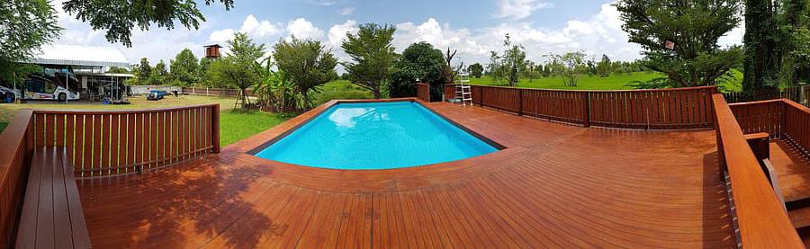 piscinas de madera baratas