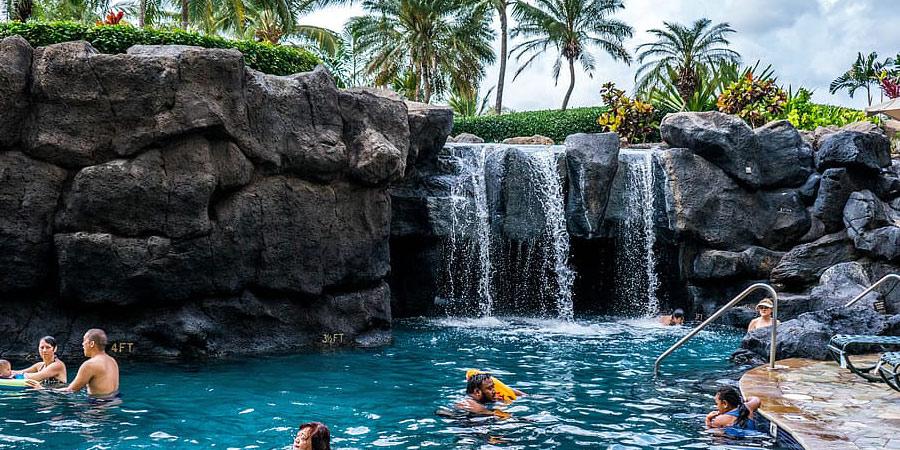 comprar cascadas para piscinas