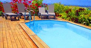 piscinas de madera ofertas