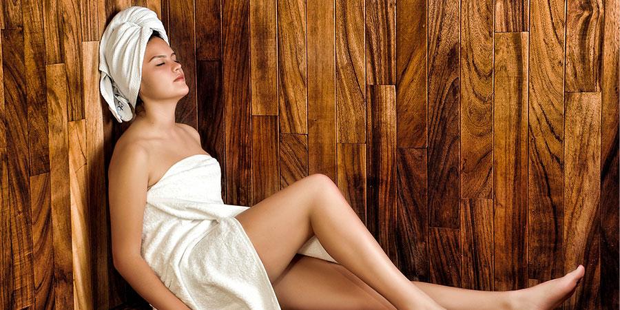 sauna exterior oferta