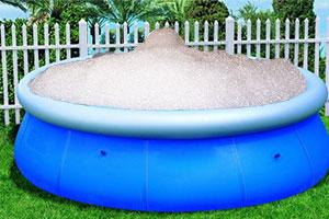 como limpiar piscinas desmontables