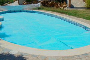 manta termica piscina geobubble