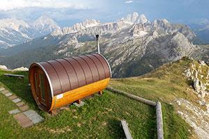 sauna exterior precio